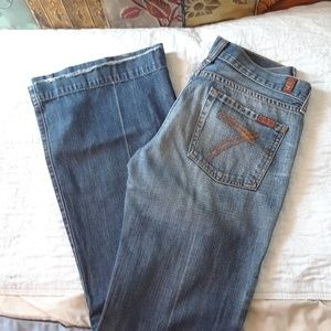 28x32 DOJO JEANS 7 FOR ALL MANKIND